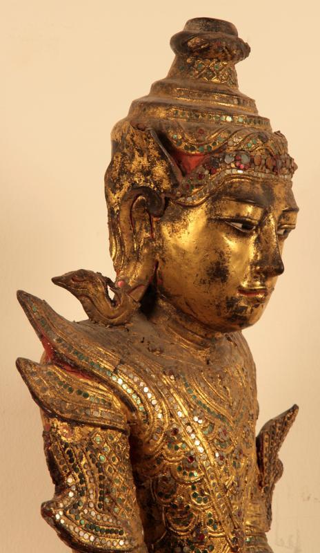 Burmesische Buddafigur 06 07